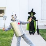 DIY Kids Tin Man Costume