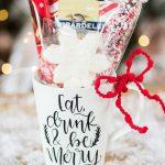 Hot Cocoa Christmas Mug Gift