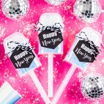 New Year's Eve Confetti Push Up Pops
