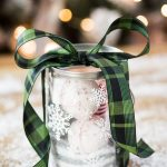Cricut Snowflake Paint Can Pampering Gift