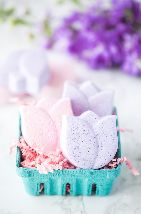 Tulip Flower Bath Bombs