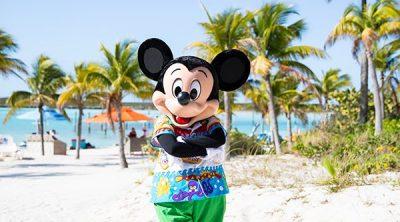 Mickey Mouse Castaway Cay Disney Cruise