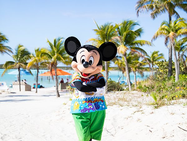 Mickey Mouse Castaway Cay Disney Cruise