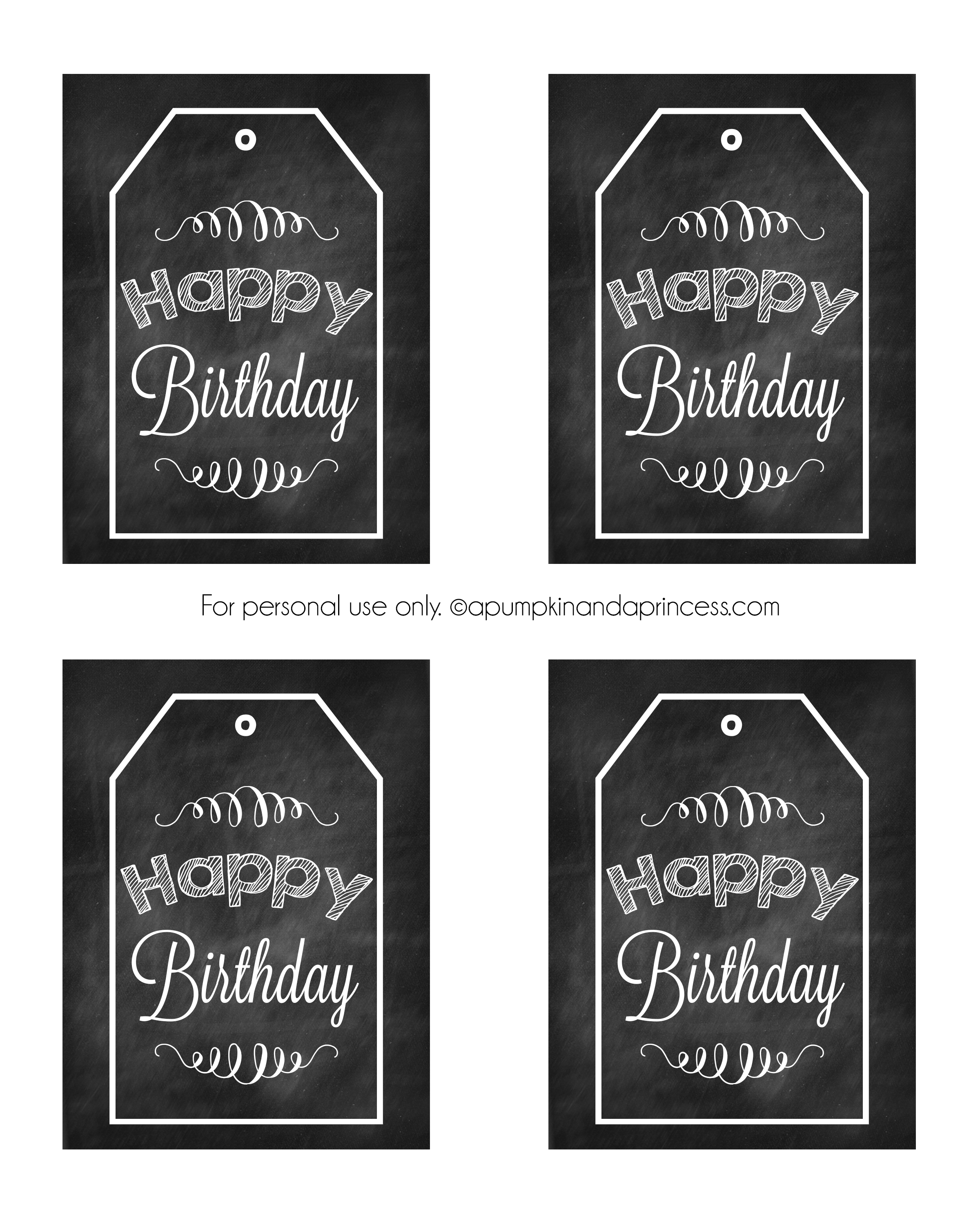 photo about Birthday Tag Printable known as Birthday Inside of A Jar Birthday Printable Tags - A Pumpkin And