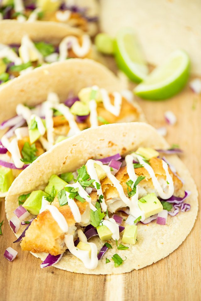 Easy Fish Tacos and Fish Sauce Recipe