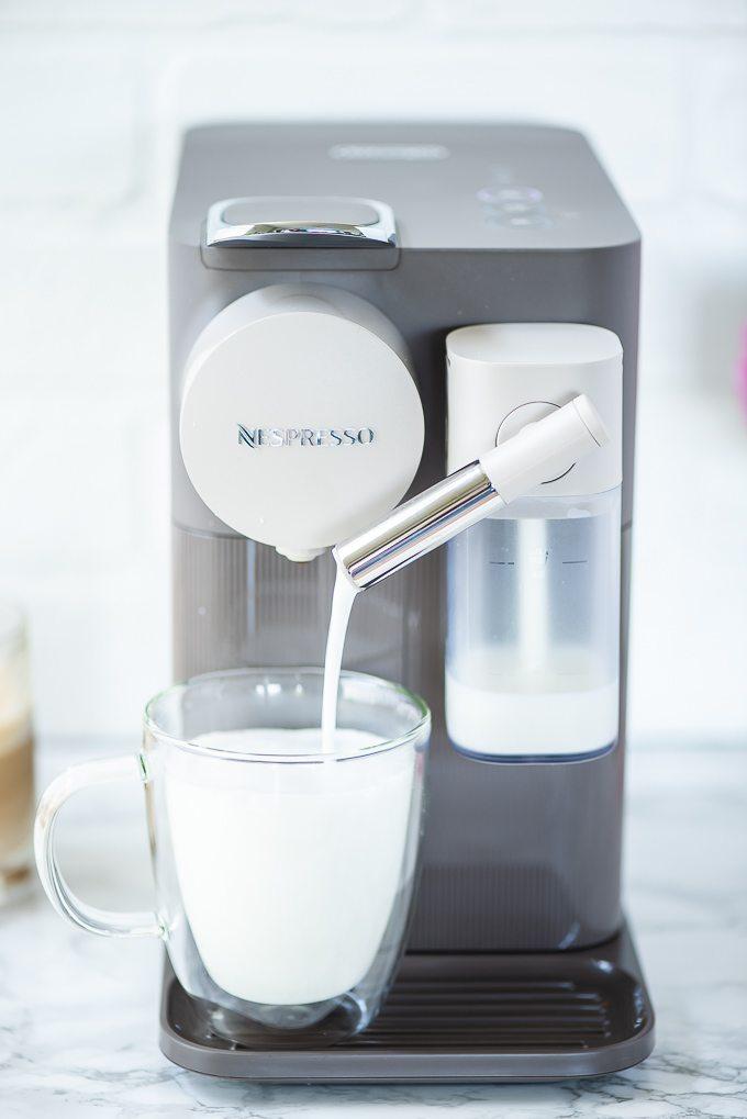 Nespresso steamed milk latte recipe