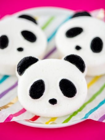 DIY Panda Bath Bombs – easy handmade bath bomb recipe for kids made with nourishing oils