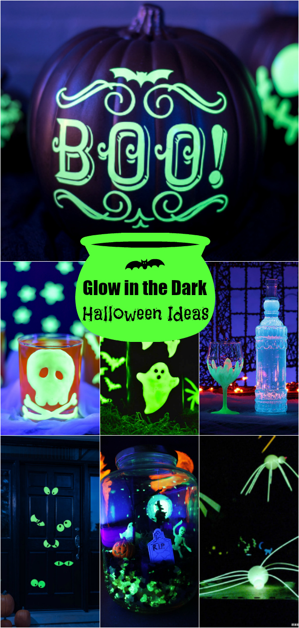 Host a spooktacular Halloween party with these creative glow in the dark ideas