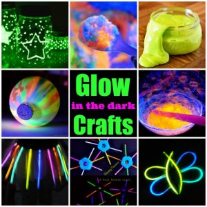 The BEST glow-in-the-dark craft ideas