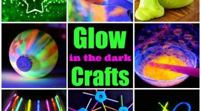 The BEST glow-in-the-dark craft ideas