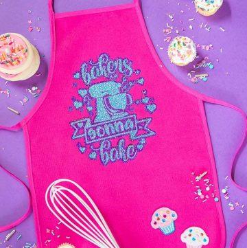 Kids Baking Apron Handmade Gift