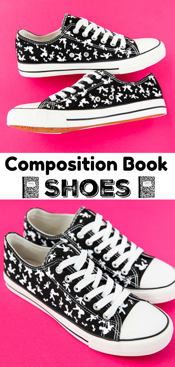 How to make Composition Book Shoes