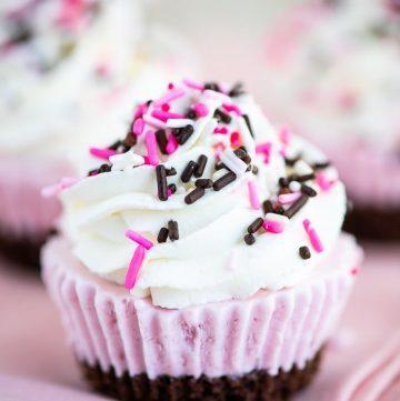Easy Neapolitan Ice Cream Cupcakes recipe