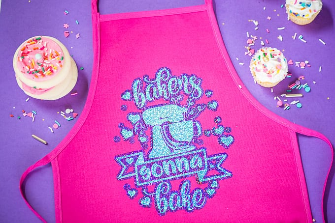 DIY Kids Baking Apron
