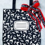 How to make a personalized composition book tote bag #totebag #teacherappreciation