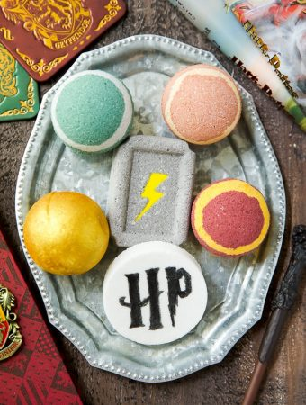 DIY Harry Potter Bath Bombs