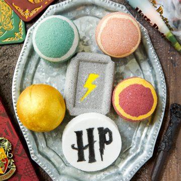 How to make Harry Potter bath bombs