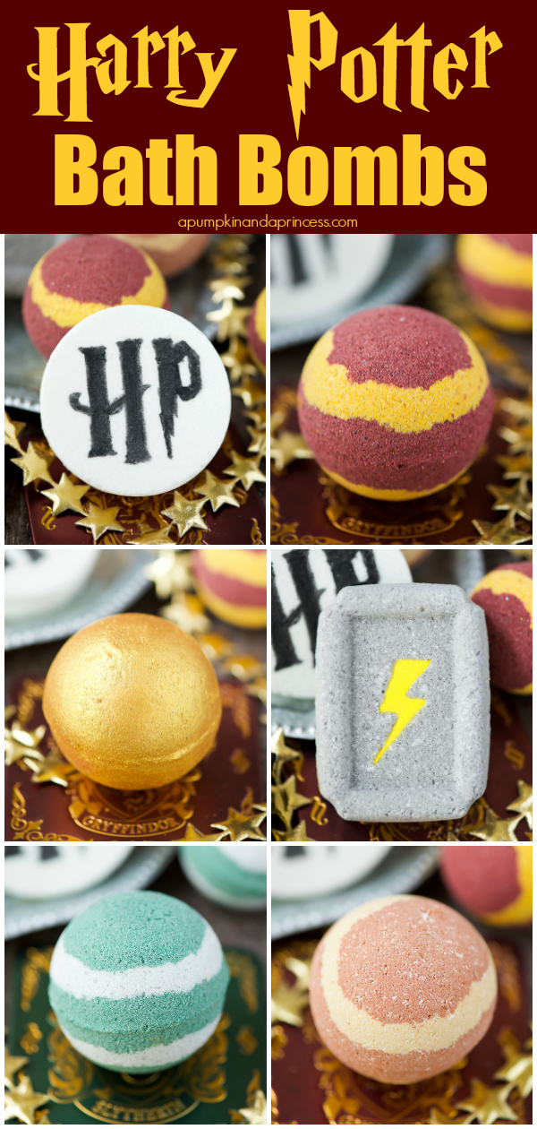 The BEST DIY Harry Potter bath bombs