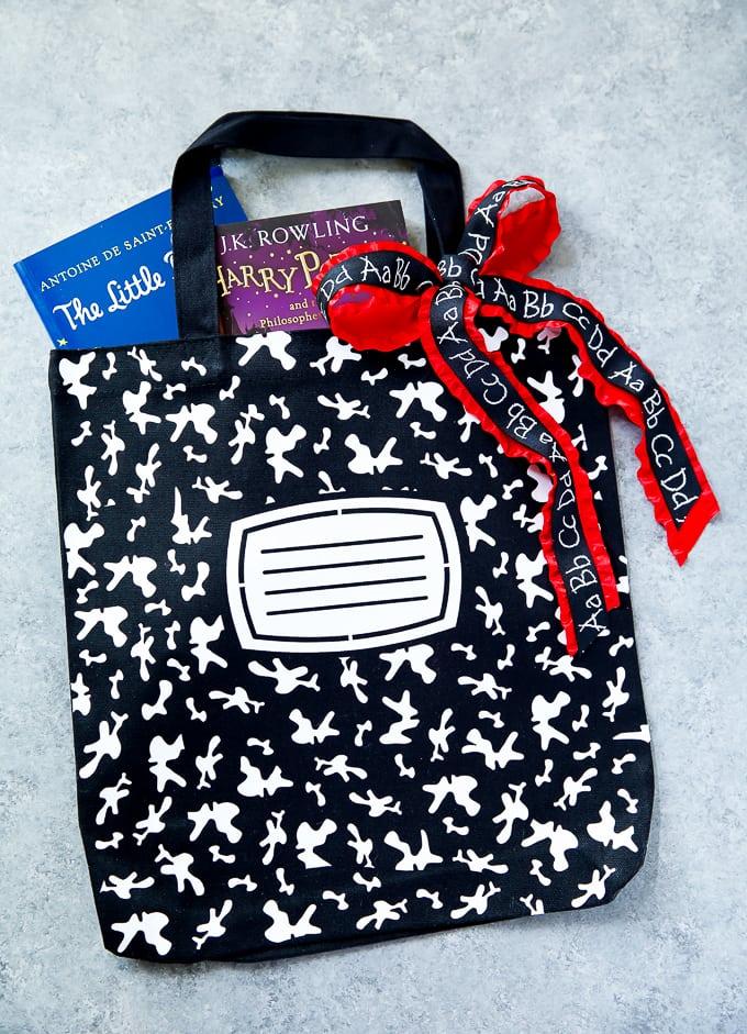 How to make a notebook book bag