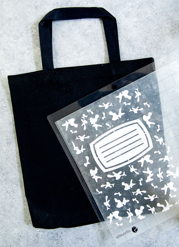 back to school crafts - diy tote bag