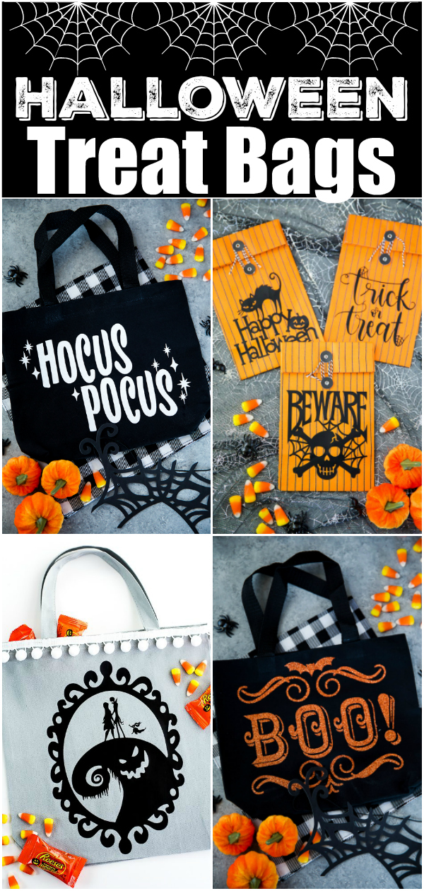 Diy Halloween Treat Bags A Pumpkin And A Princess