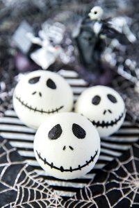DIY Nightmare Before Christmas Bath Bombs