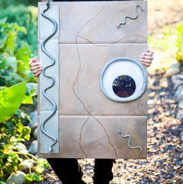 Hocus Pocus Spell Book Costume DIY