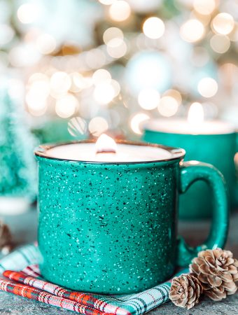 How to make soy wax mug candles
