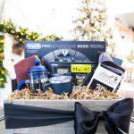 Men's gift guide + gift basket ideas