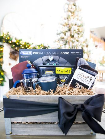 Men's gift guide + gift basket ideas