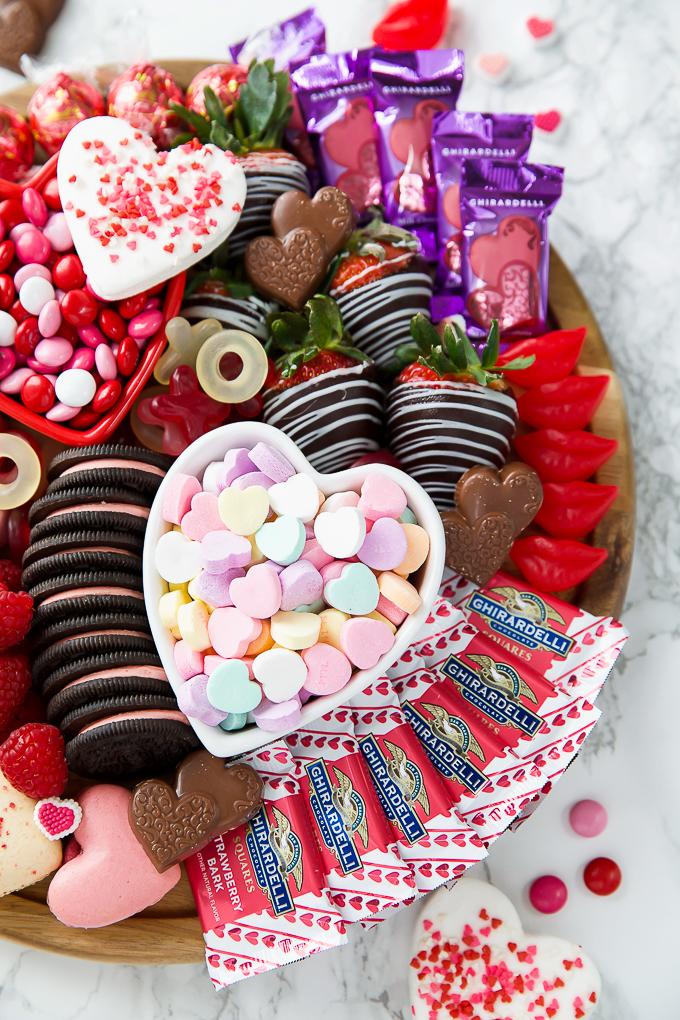 Valentine's Dessert Board Ideas