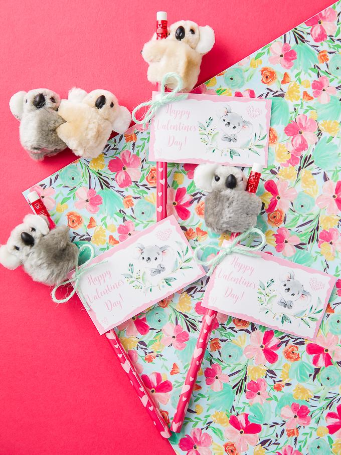 Handmade Koala Valentines