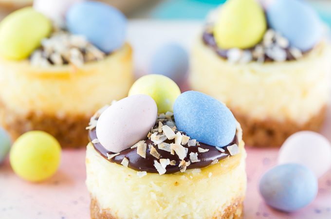 Cadbury Egg Easter Cheesecake Recipe