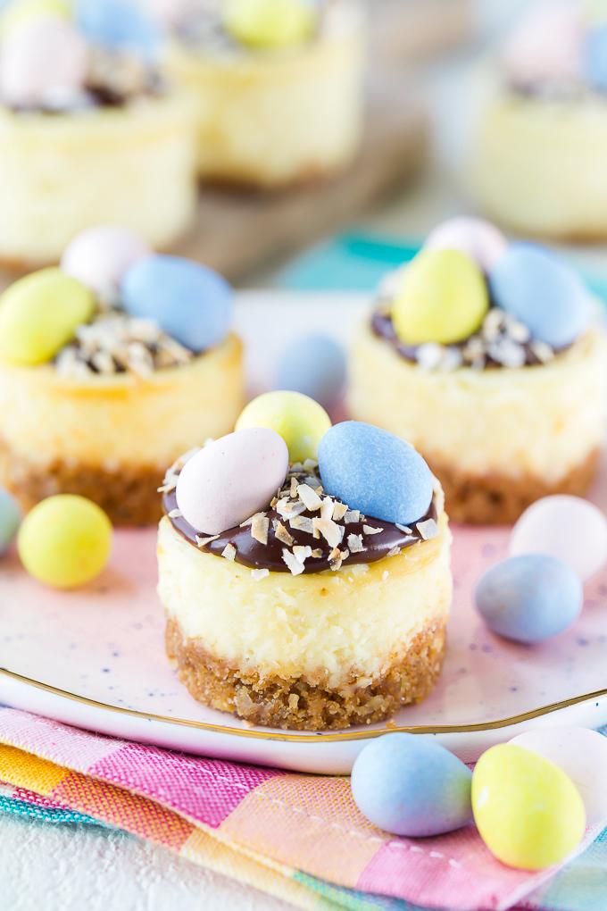 Cadbury Egg Easter Cheesecake Recipe
