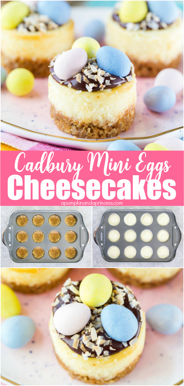 Easter mini cheesecake recipe