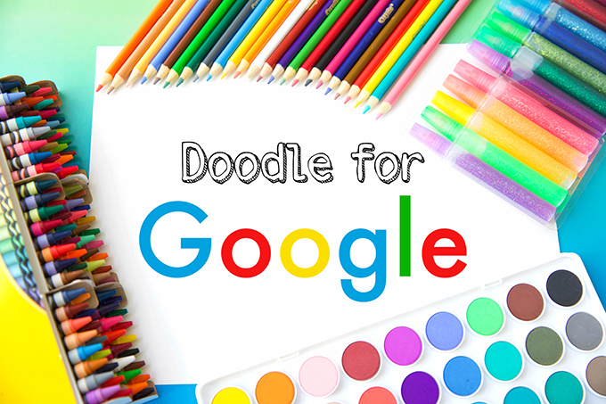 Doodle for Google contest for kids