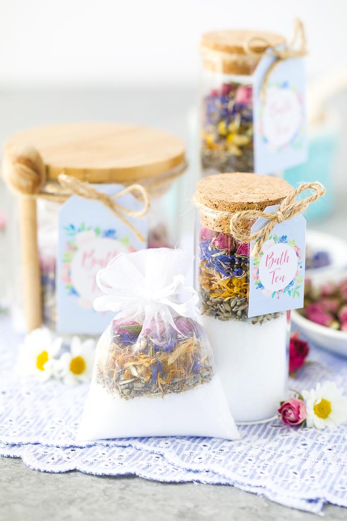 Bath tea handmade gifts
