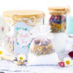 How to make a beautiful, calming bath tea recipe