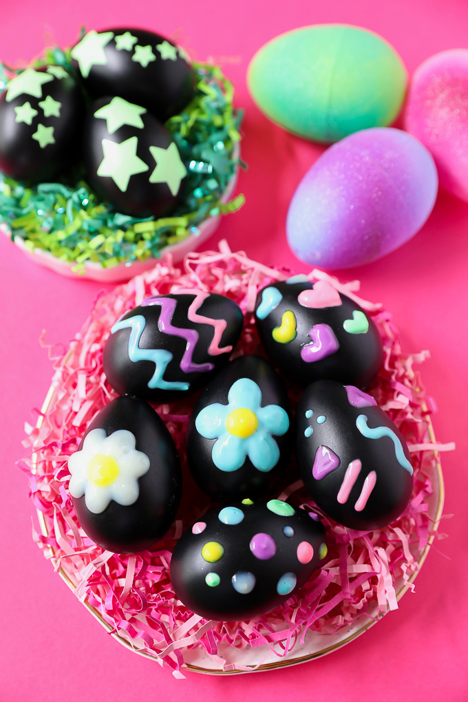 3 easy ways to make glow in the dark eggs