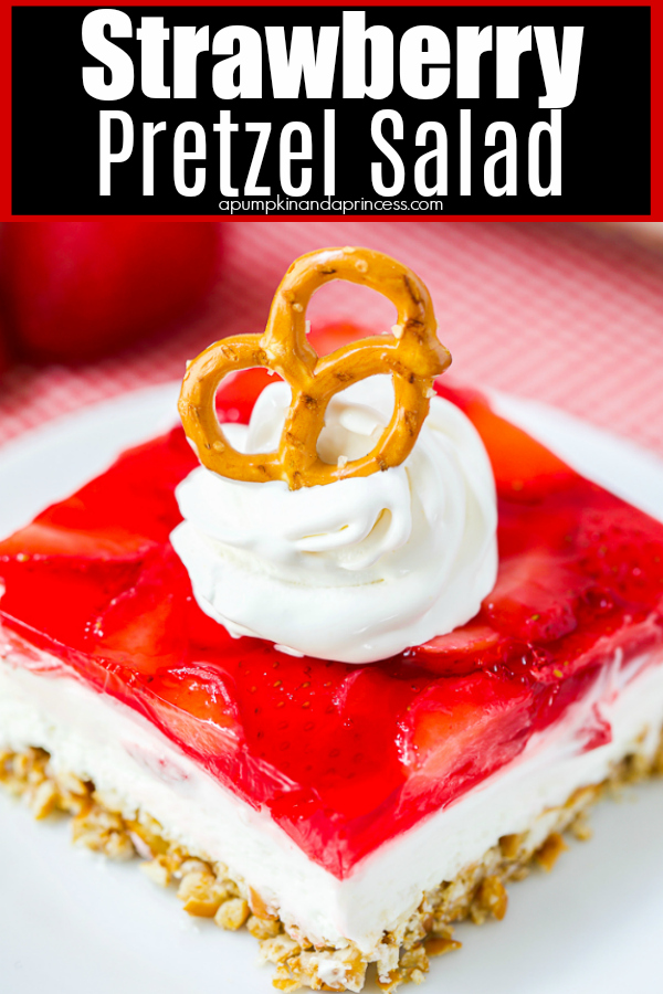 Gluten-Free Strawberry Pretzel Dessert Recipe