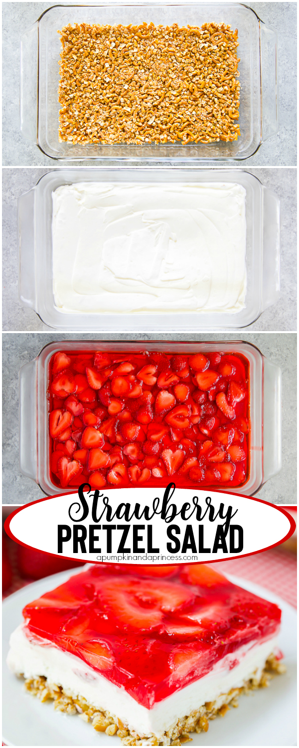 Easy Strawberry Pretzel Dessert Recipe