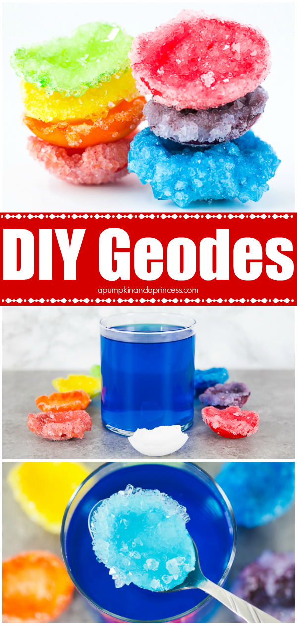 Geodes you can make at home! Kids will love this chemistry experiment!
