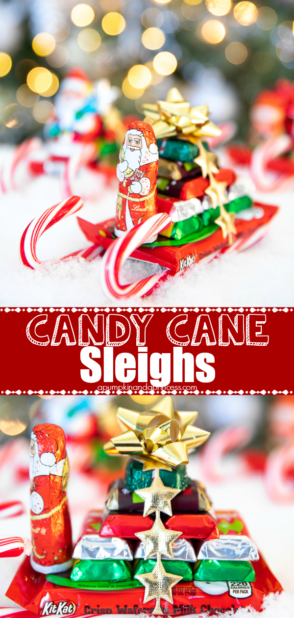 Cute and easy candy cane crafts for kids