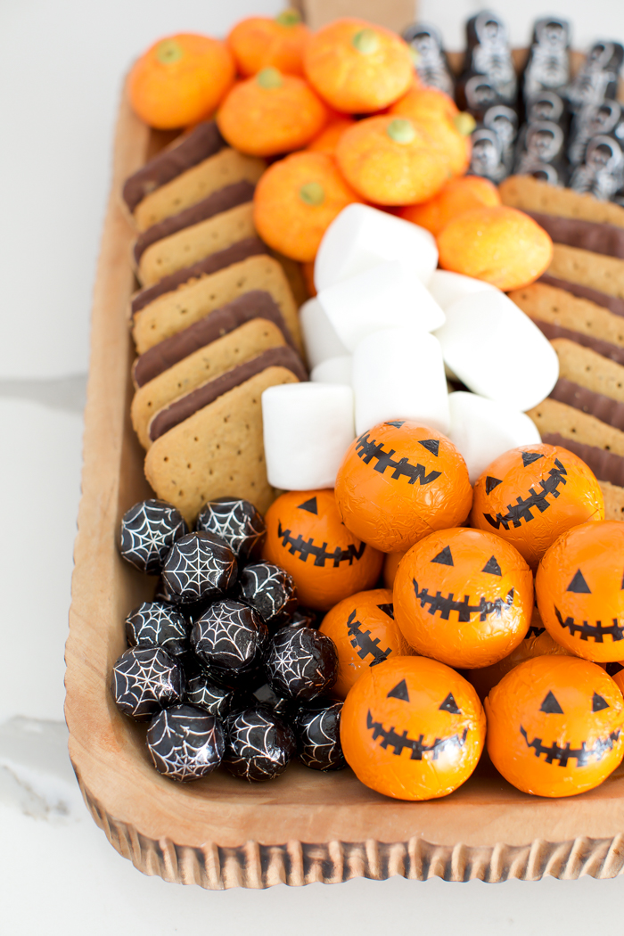 halloween chocolate candy for s'mores