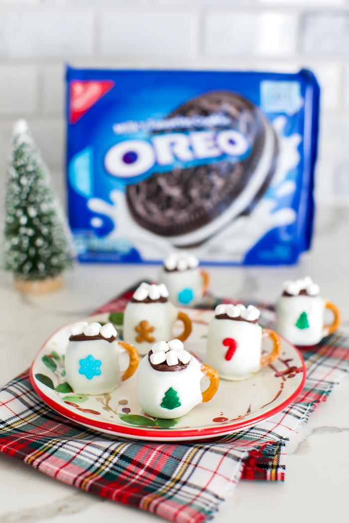 How to make Christmas OREO balls