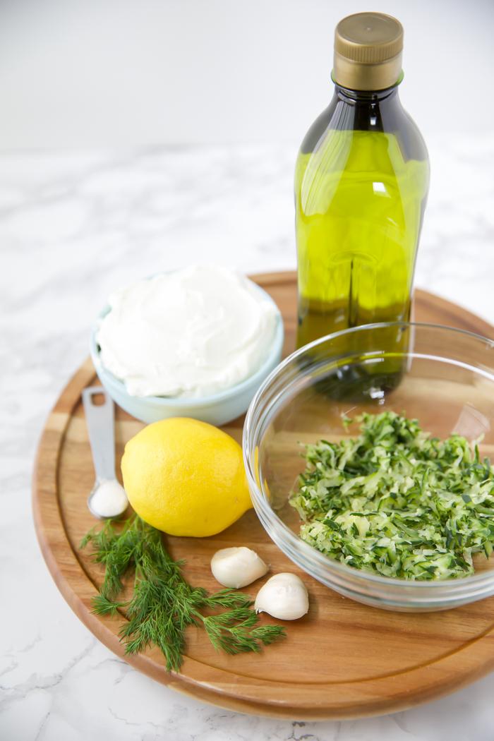 simple authentic tzatziki recipe