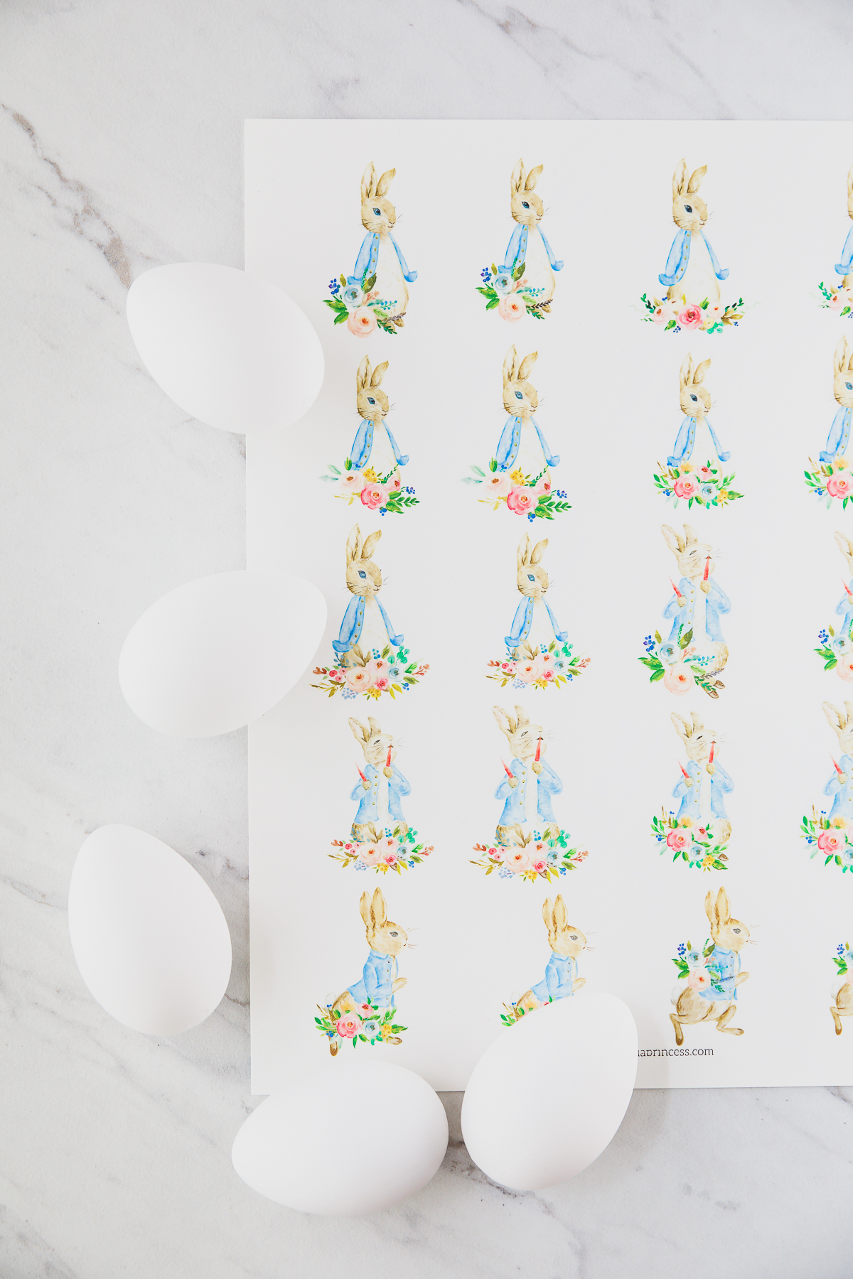 printable bunny clipart