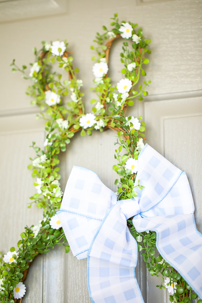 bunny shaped wreath ideas