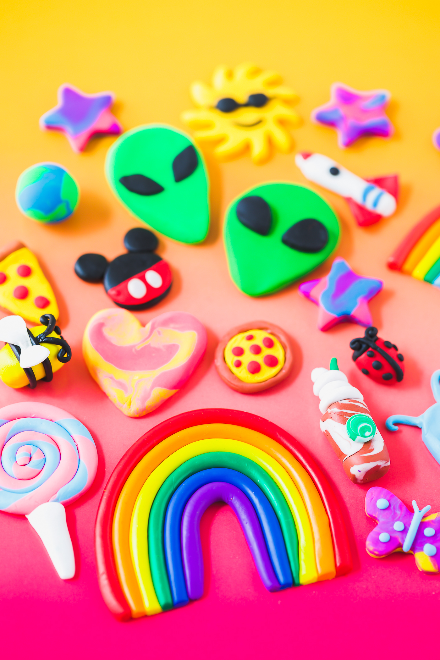 Tips and tricks for making clay erasers for kids