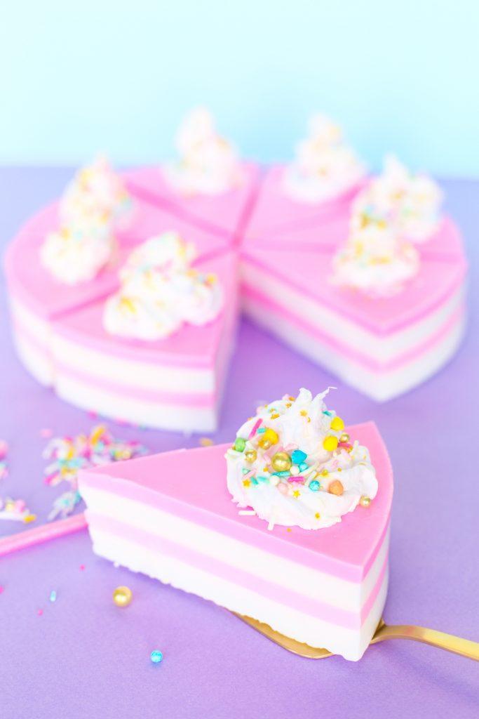 birthday cake slice soap
